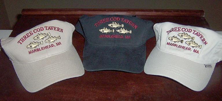 three cod hats